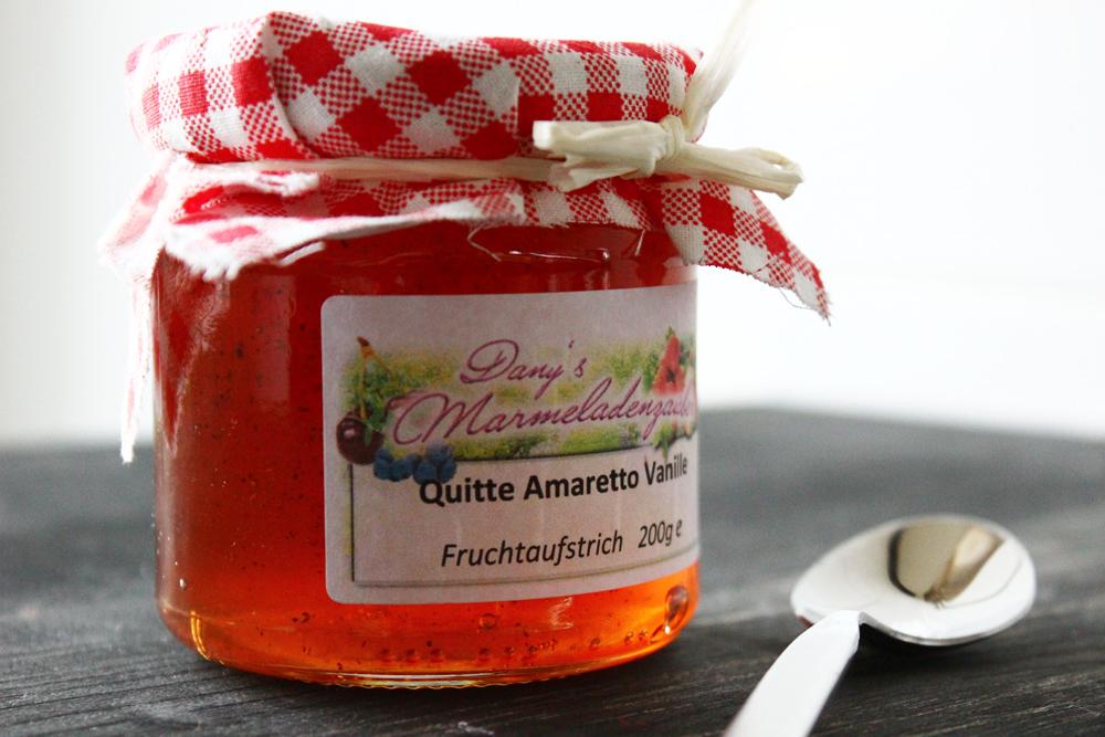 Danys Marmeladenzauber Quitte Amaretto Vanille